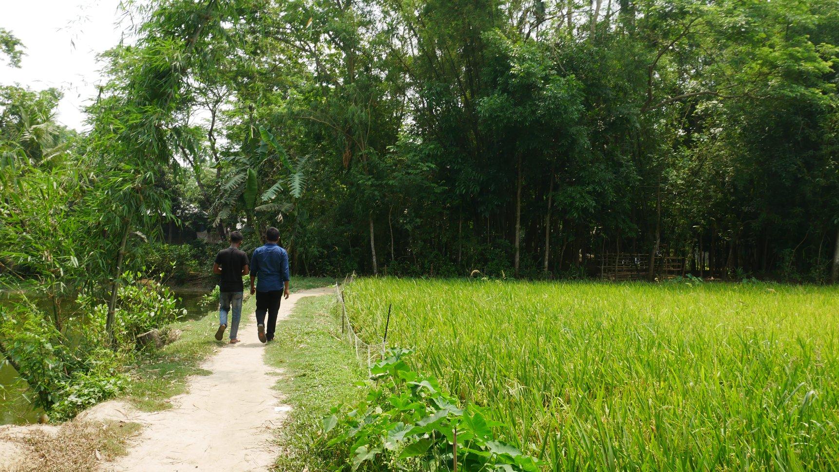 バングラデシュ チャンドプール村