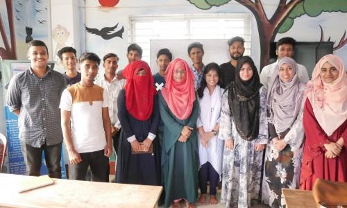 バングラデシュe-Educationコーチングセンター卒業生