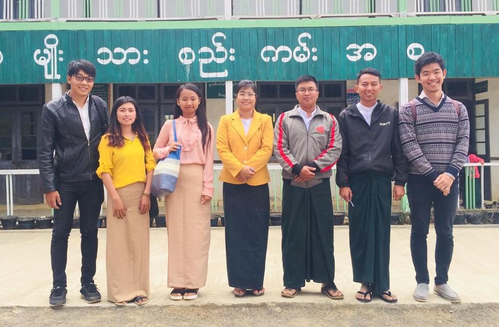ミャンマー2校目活動展開
