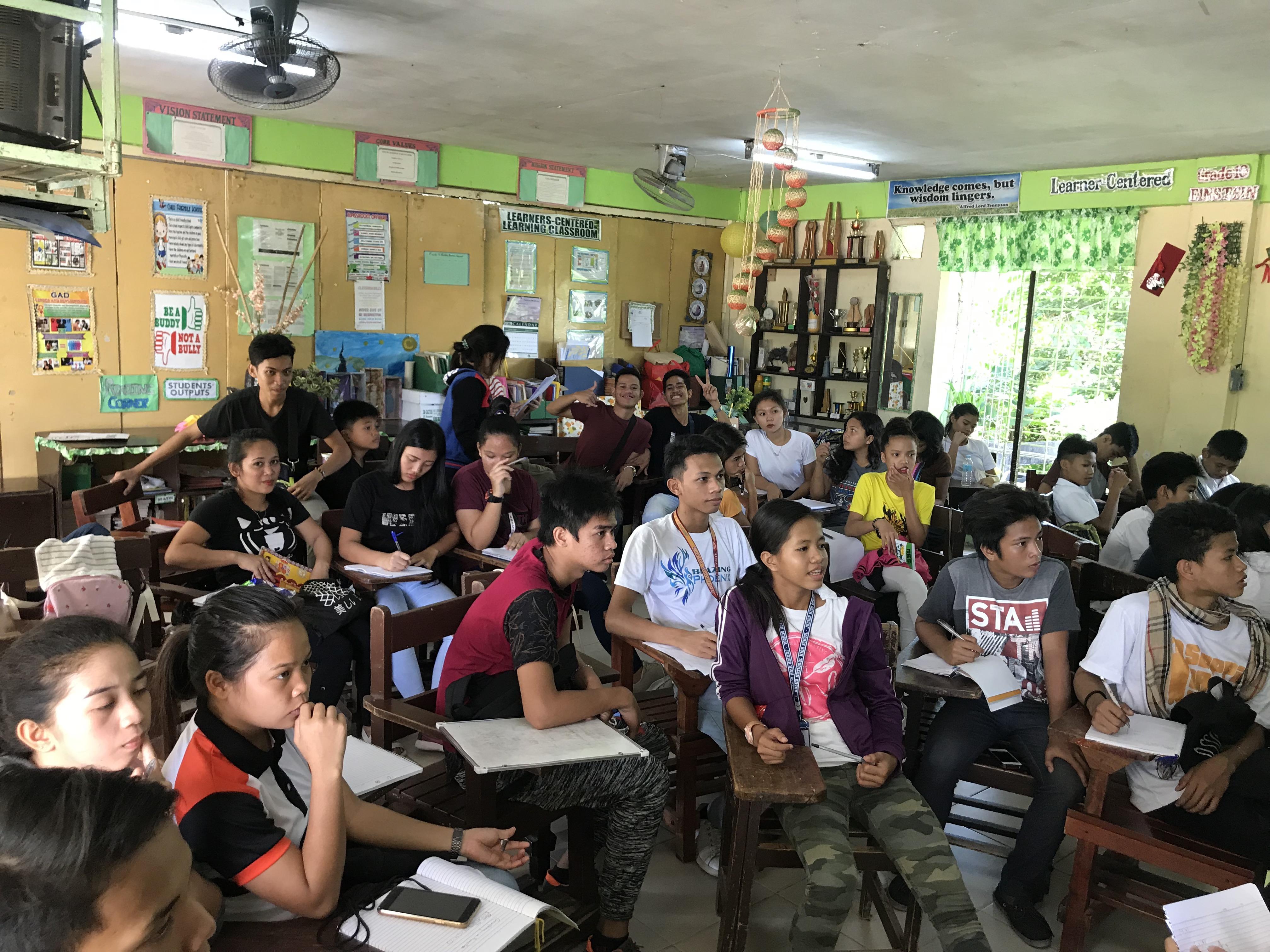 オープンハイスクールプログラムの教室