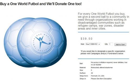 One World Futbol Project2
