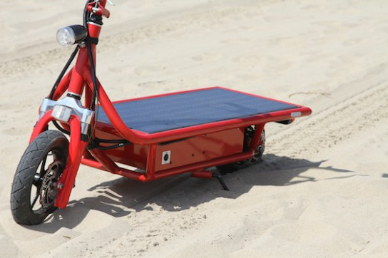 solar-scooter