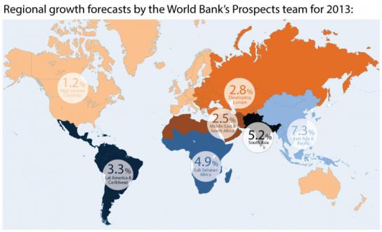 途上国経済の現状を一覧で把握! 世界銀行が発表したインフォ ...