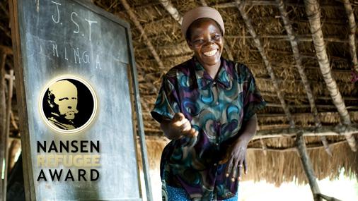 UNHCRの「ナンセン難民賞」に、...