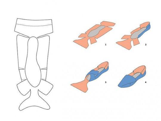 Footwear Origami-2