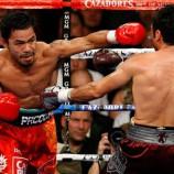 Oscar De La Hoya v Manny Pacquiao