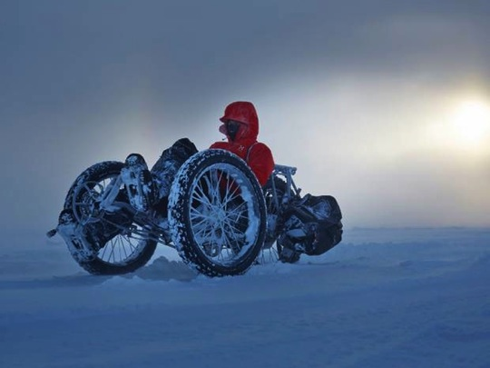 First person cycle south pole01