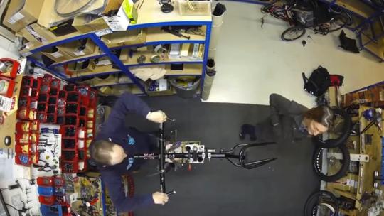 How to make ice bike01