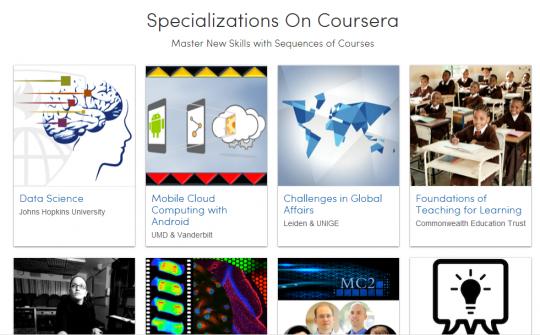 Specializations   Coursera