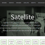 Echelon 2014   Asia's Largest Tech Conference   Satellites