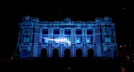 brazil projection mapping