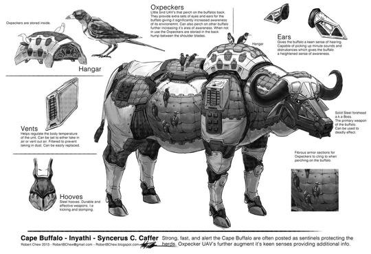 Big five buffalo breakdown by crazyasian1 d6k0lh9