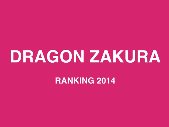Dragon zakura ranking2014