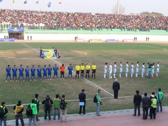 ネパールナショナルスタジアムでの国際マッチ