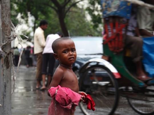バングラ現地子供