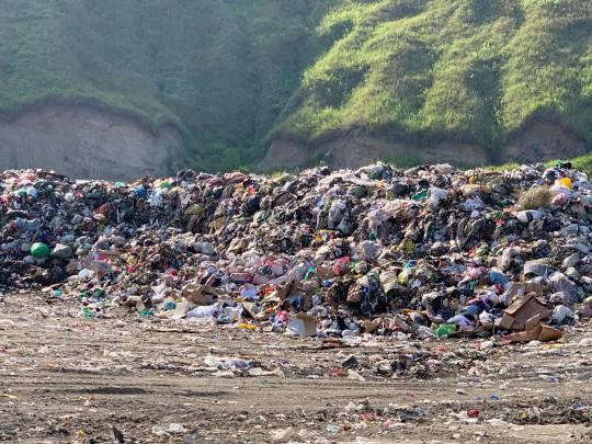 ビニールのゴミが多い印象